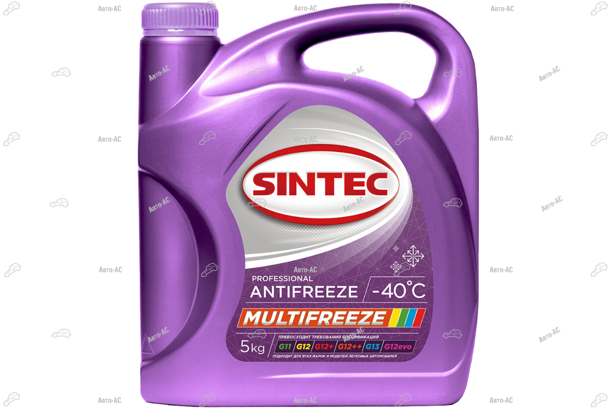 Антифриз Sintec MULTI FREEZE 5 кг.